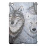 Soul Mates Wolves by Lori Karels iPad Mini Cases
