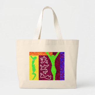 Soul ~ Modern Art ~ Large Tote Bag