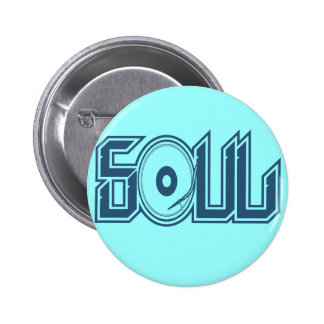 Soul Music 2 Inch Round Button