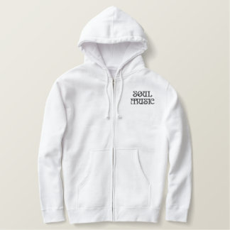 Soul Music Embroidered Hoodie