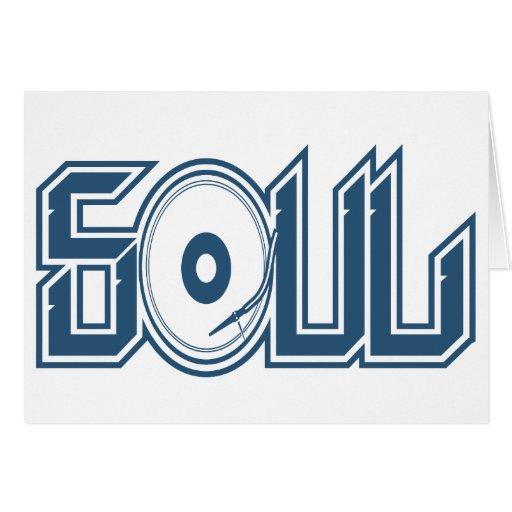 Soul Music Greeting Card