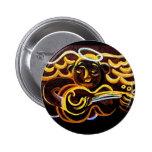 soul music pinback button