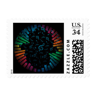 Soul Music Small U.S. Postage Stamps