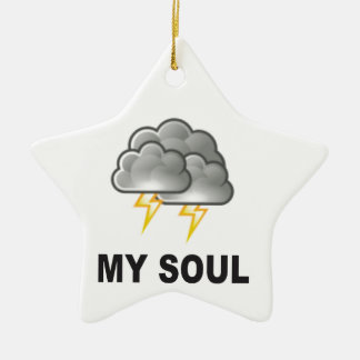 soul my storms ceramic ornament