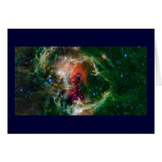 Soul Nebula a.k.a. Embryo Nebula Greeting Cards