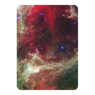 Soul Nebula emission nebulae in Cassiopeia Card