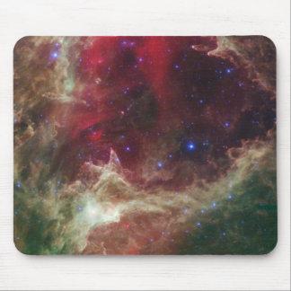 Soul Nebula emission nebulae in Cassiopeia Mouse Pad