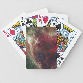 Soul Nebula emission nebulae in Cassiopeia Bicycle Card Deck