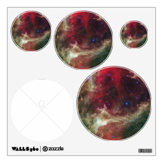Soul Nebula emission nebulae in Cassiopeia Wall Sticker