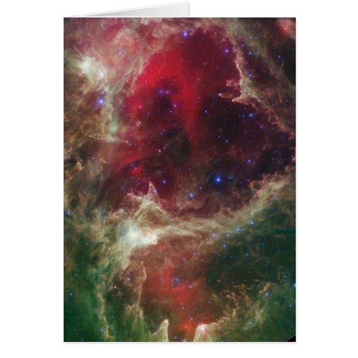 Soul Nebula Greeting Card