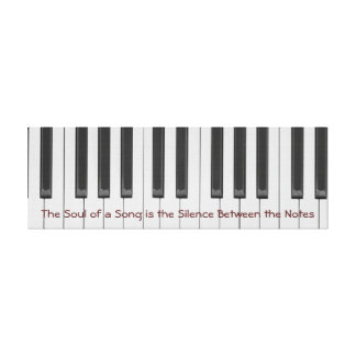Soul of a Song 36 x 12 Stretched Canvas Print