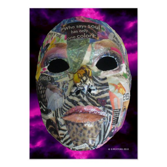 Soul of Color Mask Print