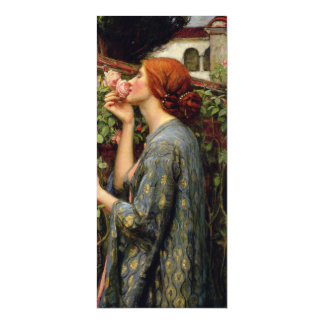 Soul of the Rose by John William Waterhouse Magnetic Card