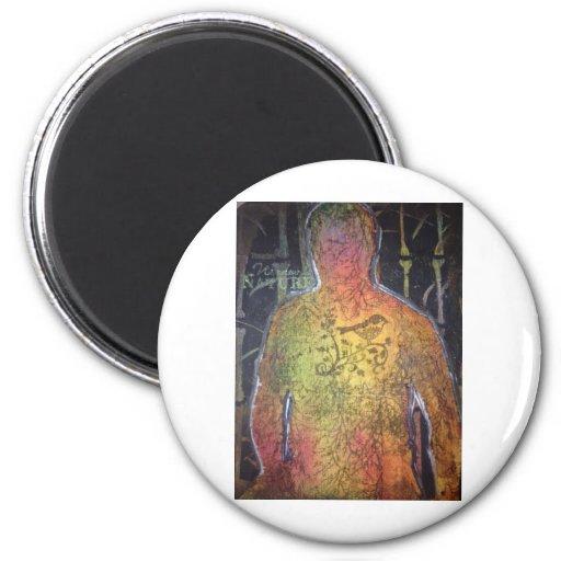 Soul on fire fridge magnets