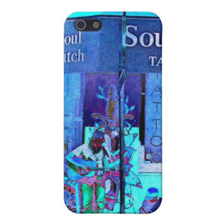 """Soul Patch"" I-Phone 5/5s Case Blue/Multi"