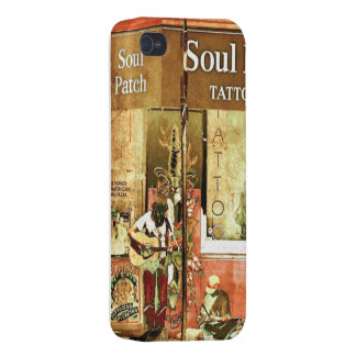 """""""Soul Patch"""" I-Phone 5/5s Case in Red/Brown/Multi"""