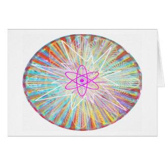 Soul Power : Solar Energy Artistic Design Card