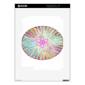 Soul Power : Solar Energy Artistic Design Decal For The iPad 2