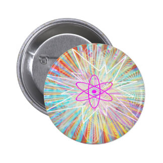 Soul Power : Solar Energy Artistic Design Pinback Button