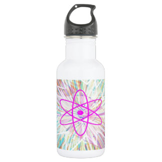 Soul Power : Solar Energy Artistic Design Stainless Steel Water Bottle