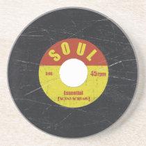 Soul Record Sandstone Coaster