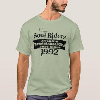 Soul riders, black print T-Shirt