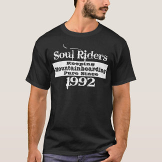 Soul riders, white print T-Shirt