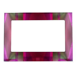 Soul Sanctuary 4 Glowing Neon Color Abstract Magnetic Picture Frame