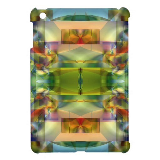 Soul Sanctuary 5 Shimmering Color Abstract iPad Mini Covers