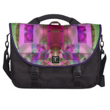 Soul Sanctuary 6 Shimmering Abstract Computer Bag