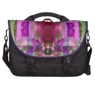 Soul Sanctuary 6 Shimmering Abstract Laptop Messenger Bag