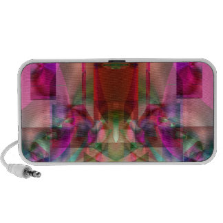 Soul Sanctuary Shimmering Color Abstract Mini Speaker