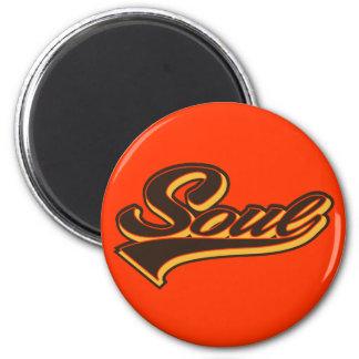 Soul Script 2 Inch Round Magnet