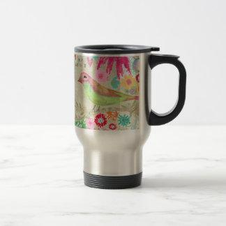Soul Searcher/Floral Travel Mug