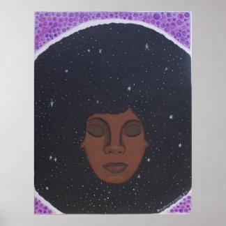 Soul Sista in Meditation Poster