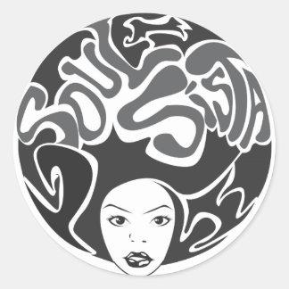 Soul Sista Sticker