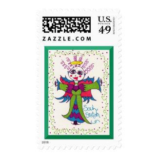 Soul Sistah Elf Angel Postage Stamps