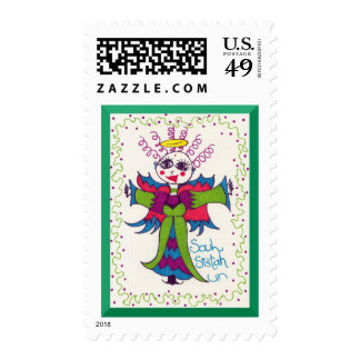Soul Sistah Elf Angel Postage Stamps