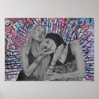 Soul Sisters I Print by Meghan Oona Clifford