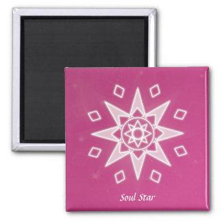 Soul Star 2 Inch Square Magnet