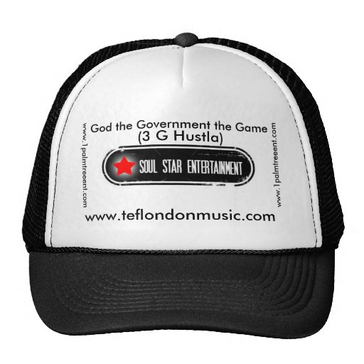 soul-star-entertainment, www.teflondonmusic.com... trucker hat