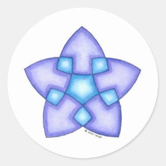 Soul Star Round Sticker