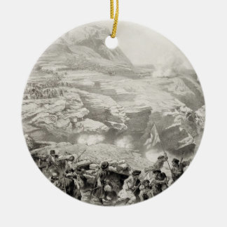 Soulak Pass at Akhati, Dagestan, plate 61 from a b Ornaments