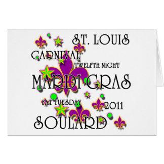 Soulard Mardi Gras 2011 Card