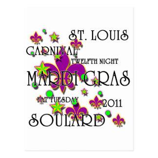 Soulard Mardi Gras 2011 Postcard
