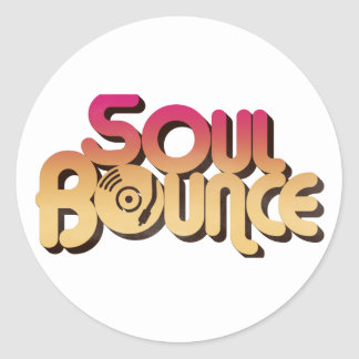 SoulBounce Color Logo Gear Classic Round Sticker