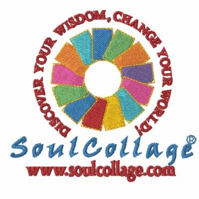 SoulCollage® bordó sudadera con capucha de las señ