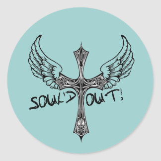 Soul'd Out - Sold Out to Christ Youth Group Classic Round Sticker