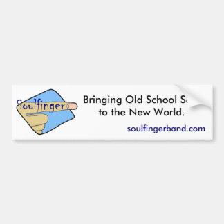 Soulfinger Bumper Sticker