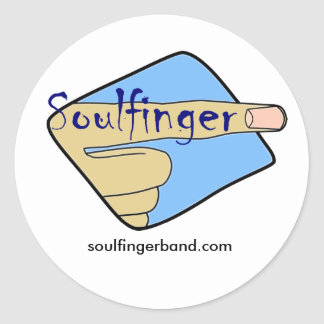 Soulfinger Sticker
